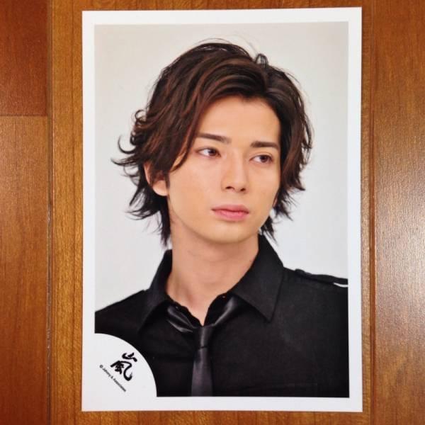 即決¥1000★嵐 公式写真 1996★松本潤 嵐ロゴ