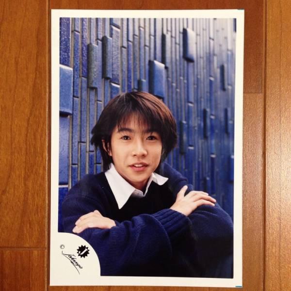 即決¥2000★嵐 公式写真 2005★相葉雅紀 幼い Jr.時代 Jロゴ