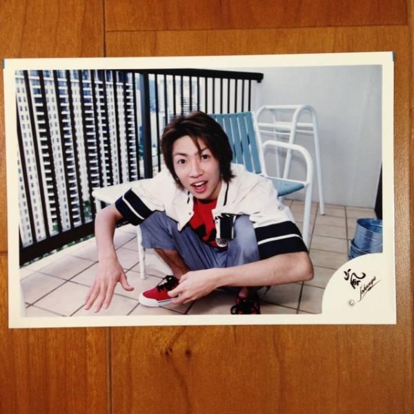 即決¥1000★嵐 公式写真 2064★相葉雅紀 初期 ハワイ 嵐ロゴ