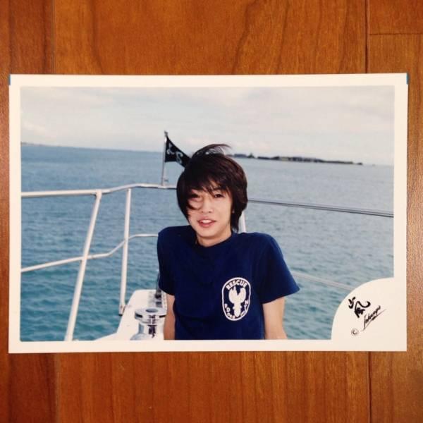 即決¥1500★嵐 公式写真 2072★相葉雅紀 初期 ハワイ 嵐ロゴ
