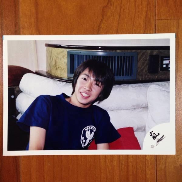 即決¥1000★嵐 公式写真 2073★相葉雅紀 初期 ハワイ 嵐ロゴ