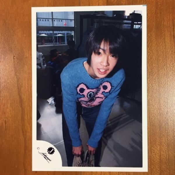 即決¥1500★嵐 公式写真 2154★相葉雅紀 貴重 Jr.時代 Jロゴ