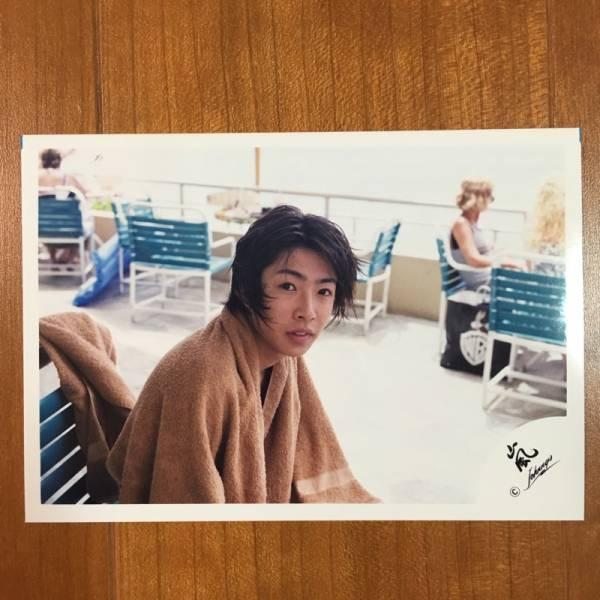 即決¥2000★嵐 公式写真 2169★相葉雅紀 貴重 ハワイ 嵐ロゴ