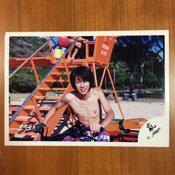 即決¥2000★嵐 公式写真 2173★相葉雅紀 貴重 ハワイ 嵐ロゴ