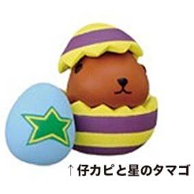 パズドラ×カピバラさん☆コレクションフィギュア 星のタマゴ グッズの画像