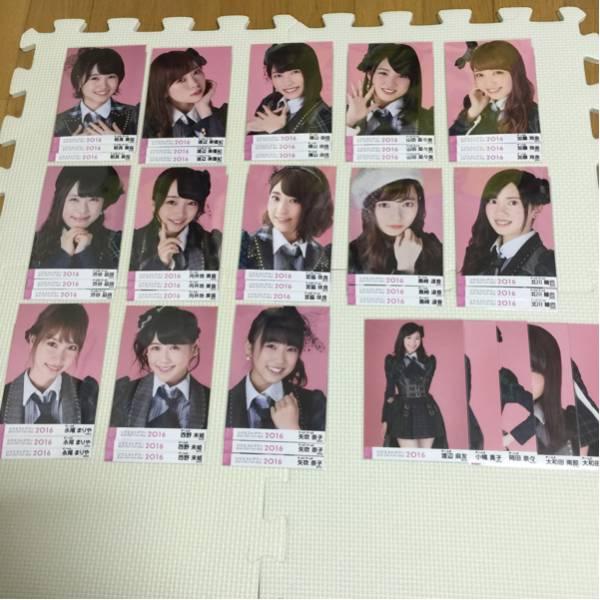 AKB48単独リクアワ生写真13組コンプ、44枚まとめ売り2