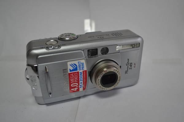 デジタルカメラ 『Canon PowerShot S45 PC1033』 (27C-8)