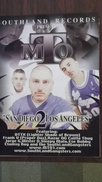 ☆MTO / SAN DIEGO 2 LOS ANGELS アルバムポスタ-!