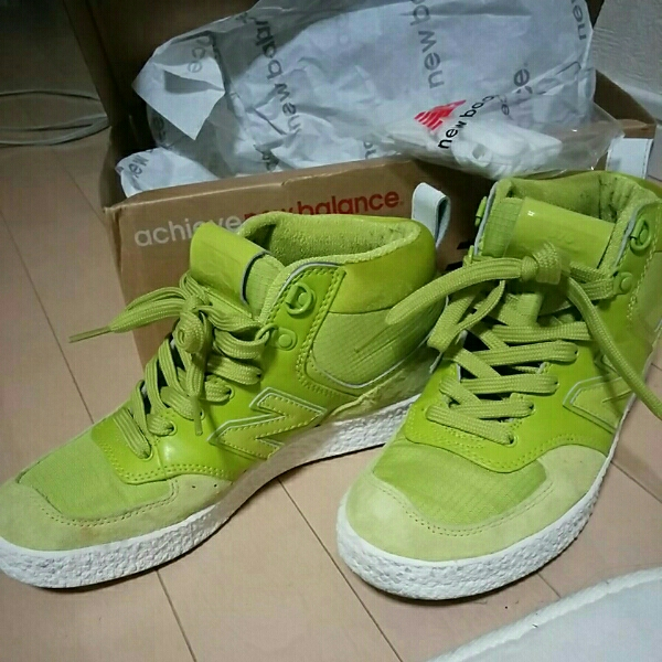 New balance is ikatto sneakers WRC576 Apple green 23cm  Real Yahoo ... ca1ef8cfd