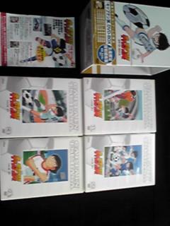 キャプテン翼 DVD-BOX 生産限定特別版 帯付き 希少 レア 1-4巻_画像1