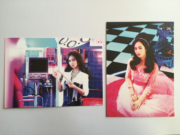 【美品】少女時代 Mr.Mr ポストカード 2枚セット 「 ユリ 」