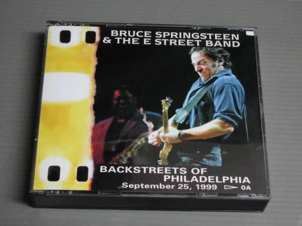 *BRUCE SPRINGSTEEN/Backstreets of PHILADELPHIA★3枚組/CD
