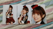 元AKB48篠田麻里子 言い訳Maybe衣装生写真コンプ帯無 貴重レア