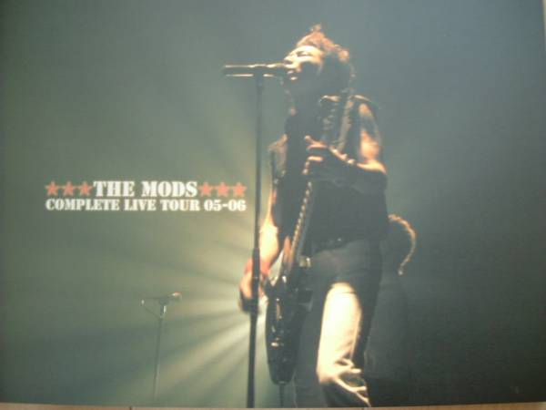 THE MODS COMPLETE LIVE TOUR 05-06 パンフレット