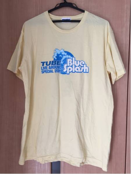 TUBE LIVE AROUND SPNCIAL 2009 Blue Splash Tシャツ チューブ