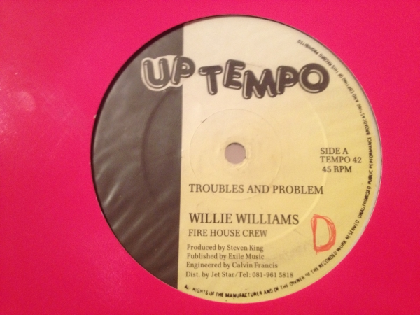 ■Willie Williams/Troubles And Problem■KILLER DIGITAL!_画像1