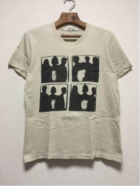[即決古着]museum neu/ミュージアムニュー/Kevin Cummins/New Order/フォトTシャツ/半袖/ベージュ/M
