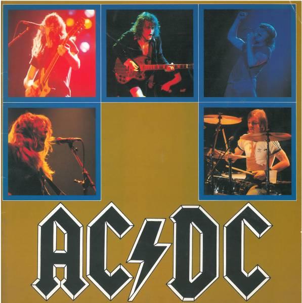 AC/DC1982年来日コンサート・パンフ良品