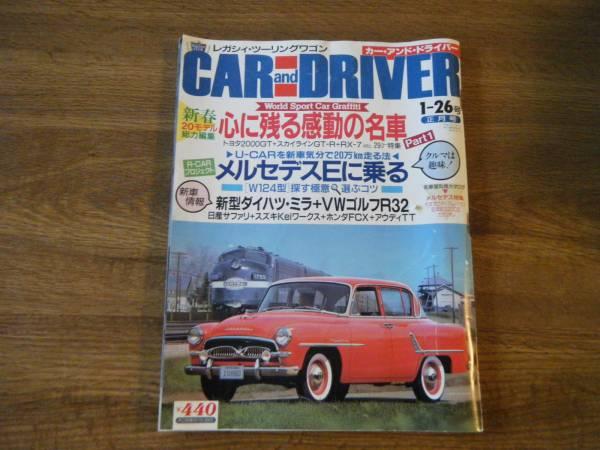雑誌 カー・アンド・ドライバー 正月号 05_画像1
