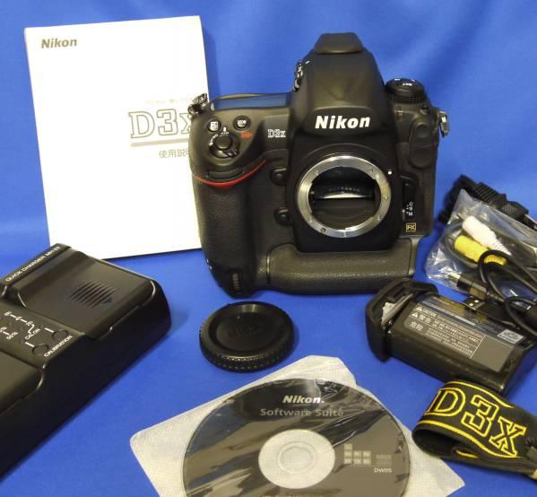 名機 ! Nikon / ニコン D3x ボディ (6000回) 極上品  !!