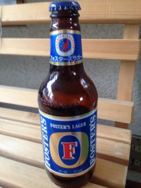 フォレスターズ ラガー ビール 空き瓶 355ml オーストラリア_画像1