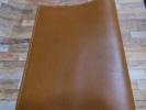 牛革 A5サイズ ブック・ノートカバー  茶