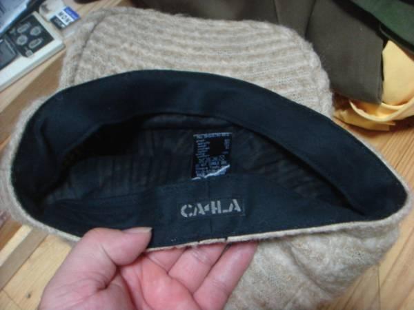 1609カシラCA4LAウールWOOLモヘア キャスケット帽子キャップCAPモヘヤ_画像3