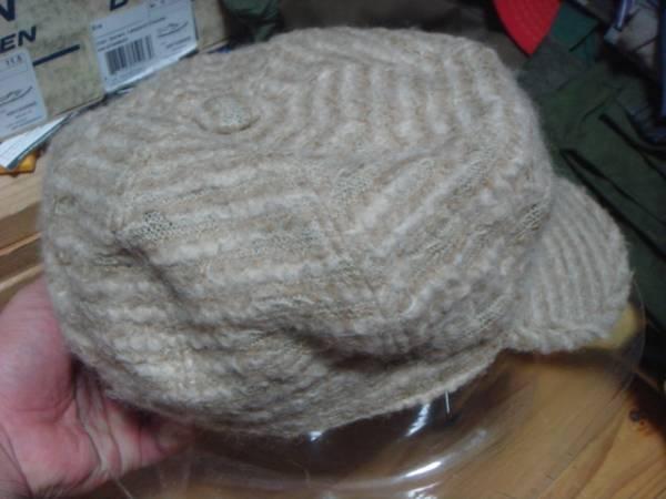 1609カシラCA4LAウールWOOLモヘア キャスケット帽子キャップCAPモヘヤ_画像2