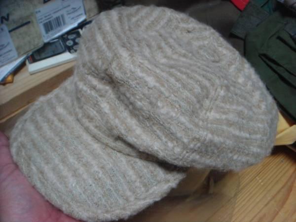 1609カシラCA4LAウールWOOLモヘア キャスケット帽子キャップCAPモヘヤ_画像1