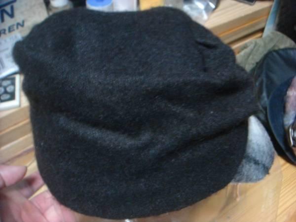 1609カシラCA4LAウールWOOLモヘア ツバ チェック切替ワークキャップCAP帽子モヘヤ ドゴール_画像2