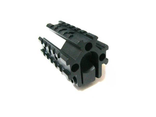 M16系バレル取付3サイドレイルマウント20mm拡張レール[新品]d m4 m16_画像1