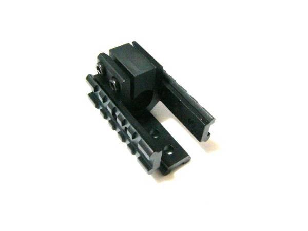 M16系バレル取付3サイドレイルマウント20mm拡張レール[新品]d m4 m16_画像3