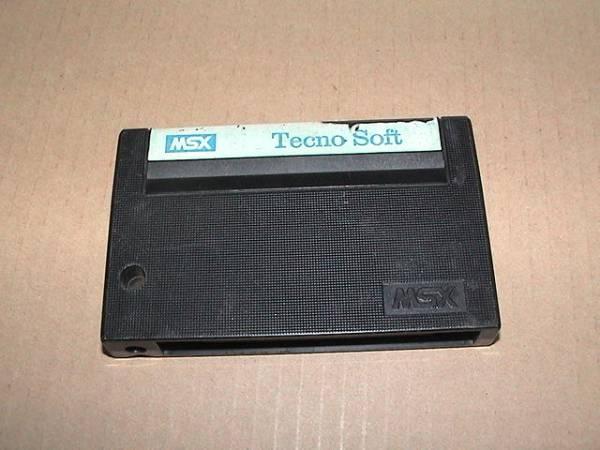 【即決】MSX ばってんタヌキの大冒険〔TecnoSoft〕_画像2