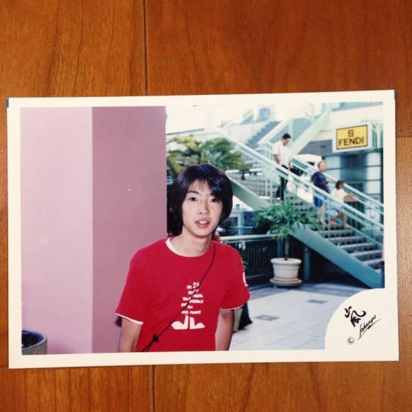 即決¥1500★嵐 公式写真 2056★相葉雅紀 初期 ハワイ 嵐ロゴ