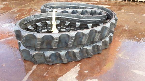 ゴムクローラー 180×34×72 1本 新品 運搬機 キャリーダンプ 作業車 築水 モロオカ _画像1
