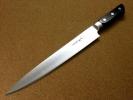 関の刃物 筋引包丁 270mm クロムモリブデン鋼 口金付き 肉の解体