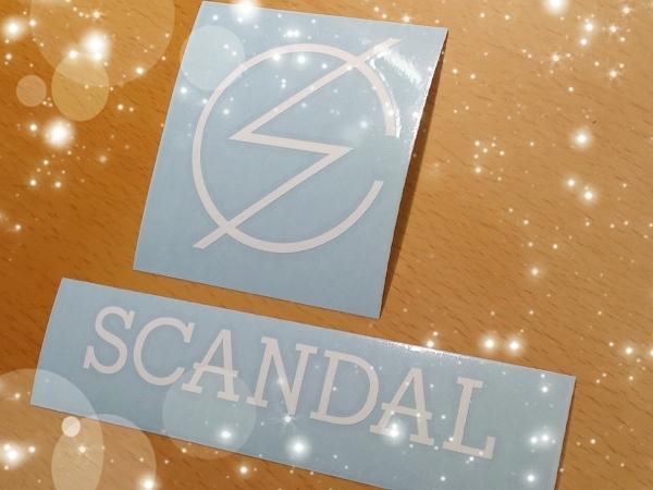 SCANDAL(スキャンダル)ステッカーセット/Sisters
