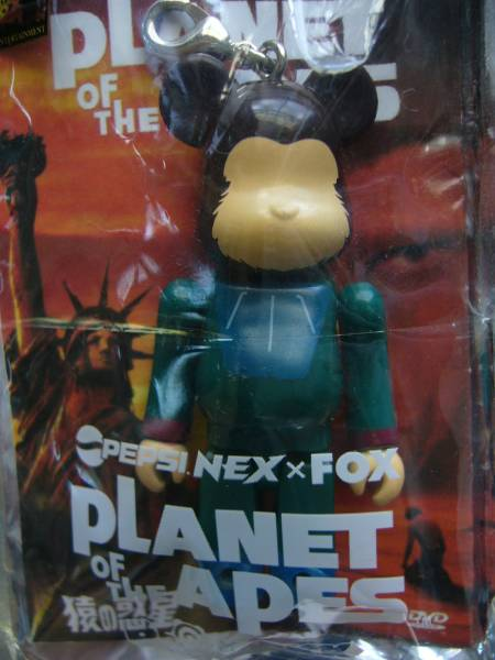 PEPSI NEXxFOX 「PLANET OF THE APES(猿の惑星)」 ベアブリック 非売品_「PLANET OF THE APES」ベアブリック