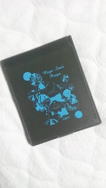 未使用品 メガマソ mega-star's prayer ミラー 黒
