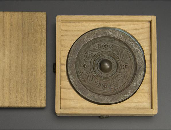 汉 銅鏡 漢 銅鏡 共箱 中国 古美術