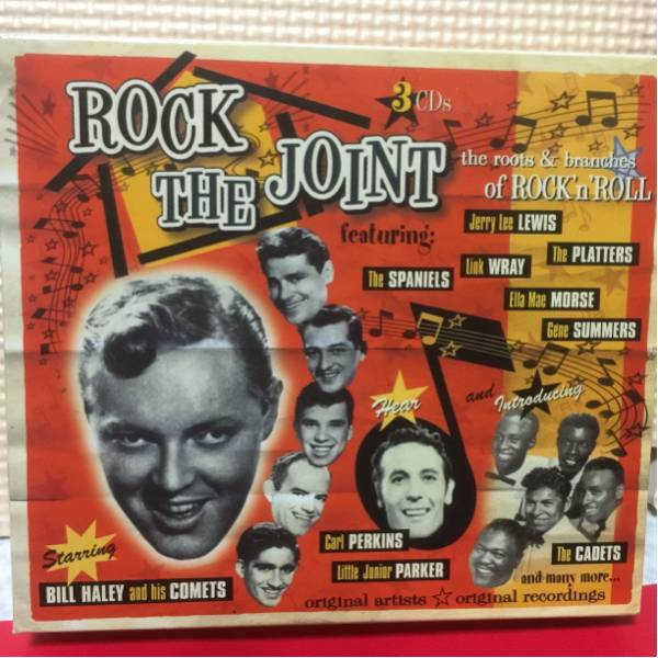 Rock The Joint / オムニバス3CD 54曲収録 輸入盤中古