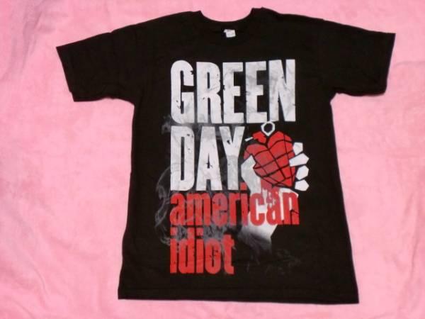 GREEN DAY グリーン デイ Tシャツ S ロックT ツアーT バンドT