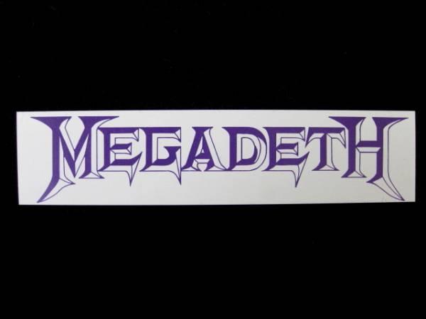 MEGADETH ステッカー