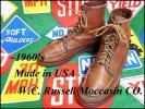 ★Russell Moccasin★ビンテージハンティングブーツ50s60s古タグ