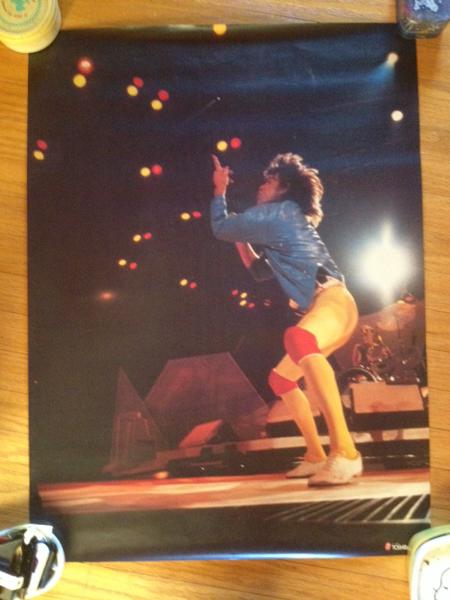 ローリングストーンズ ミックジャガー TOSHIBA EMI 正規店頭用 ライブグッズの画像