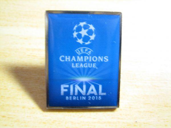 チャンピオンズリーグ 2015 決勝 ピンバッジ ロゴ サッカー UEFA
