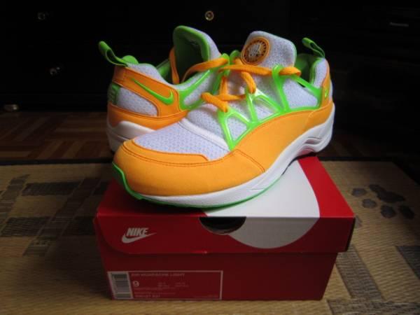 Nike Air Huarache Lite(ハラチ)白オレンジ us9(27cm)新品_画像1