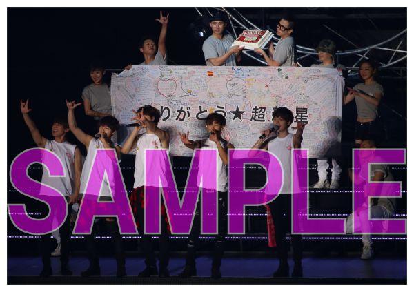 超新星 12/20 LIVE TOUR 2015 THE FINAL 有明 2Lサイズ 写真5枚