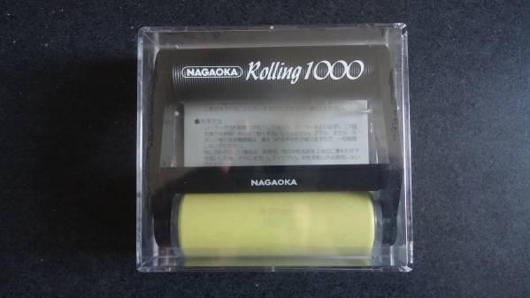 【新品】レコードクリーナー ナガオカ CL-1000用交換ローラー_本体画像(別売)