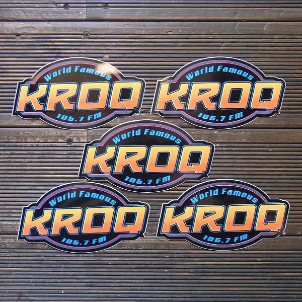 【KROQ/ケーロック】2015 ステッカー5枚セット/サブライム/#03